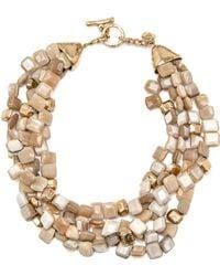 Ashley Pittman - Dhahabu Light Horn Necklace - Lyst