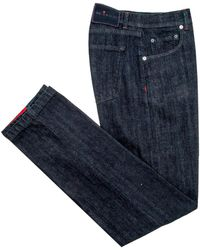 Kiton | Dark Wash 5 Pocket Jean | Lyst