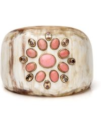 Ashley Pittman - Bendi Light Horn With Coral Cuff - Lyst