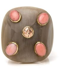 Ashley Pittman - Ishi Light Horn Ring - Lyst