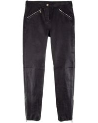 Jitrois - Amelia Leather Simple Pant - Lyst