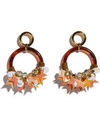 Lizzie Fortunato - Starry Night Earrings - Lyst