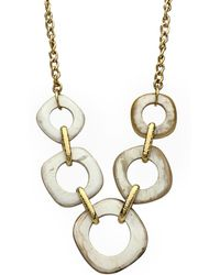 Ashley Pittman - Tupa Light Horn Necklace - Lyst