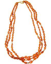 Darlene De Sedle - Mandarin Garnet Necklace - Lyst
