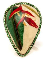 Silvia Furmanovich - Heliconia Marquetry Ring - Lyst