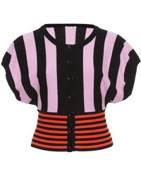 Tomas Maier   Striped Cashmere Cardigan   Lyst
