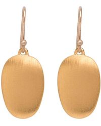 Ted Muehling - 24k Gold Vermeil Small Chip Earrings - Lyst
