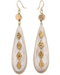 Ashley Pittman - Ndoa Light Horn Earrings - Lyst