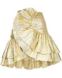 Alice McCALL - Gold Cha Cha Skirt - Lyst