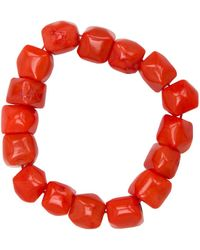 Nest - Coral Stretch Bracelet - Lyst