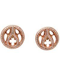 Loree Rodkin | Quatrefoil Stud Earrings | Lyst