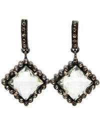 Hannah Ferguson Large Diamond Dangle Earring