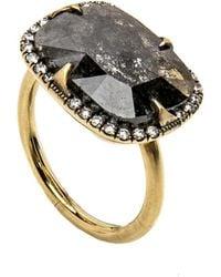 Sylva & Cie - Rough Cut Diamond Ring - Lyst