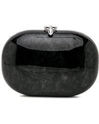 Jeffrey Levinson - Black Burl Gloss Clutch - Lyst