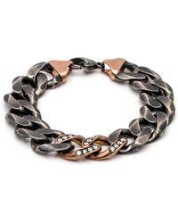Sylva & Cie - Thick Link Bracelet - Lyst