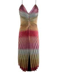 Marco De Vincenzo - Metallic Dress - Lyst