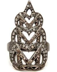 Loree Rodkin - Pointy Scalloped Ring - Lyst