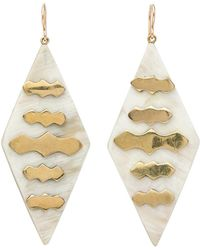 Ashley Pittman - Elimu Light Horn Earrings - Lyst