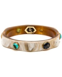 Ashley Pittman - Jasiri Light Horn Bangle - Lyst