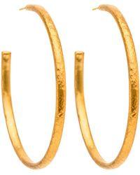 Yossi Harari - Mica Hoop Earrings - Lyst