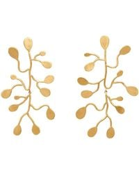 Julie Cohn - Passion Vine Earrings In Bronze - Lyst