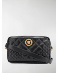 Versace - Quilted Cross-body Bag - Lyst