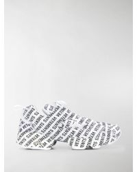 Vetements - Logo Low-top Trainers - Lyst