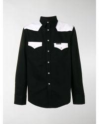 Calvin Klein - Camicia color block - Lyst