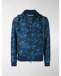 Larusmiani - Camouflage Puffer Jacket - Lyst