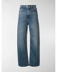 T By Alexander Wang - Wide Leg Vintage Jeans - Lyst
