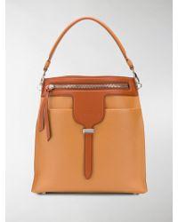 Tod's - Zipped Bucket Bag - Lyst