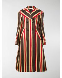 Marni - Striped Coat - Lyst