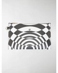 Versace - Optical Print Pouch - Lyst