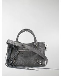 8ebda8882a Classic City Mini Leather Tote. £1,090. Mytheresa. Balenciaga - Mini Classic  City Crossbody - Lyst