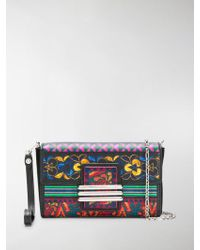 Etro - Printed Mini Cross-body Bag - Lyst
