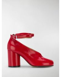 Maison Margiela - Tabi Mary Jane Court Shoes - Lyst