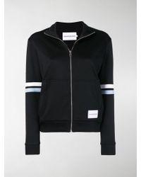 Calvin Klein - Cropped Track Jacket - Lyst