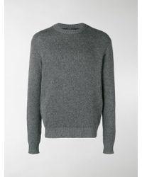 Prada - Double Knit Cashmere Jumper - Lyst
