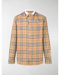Burberry - Camicia a quadri Edward - Lyst