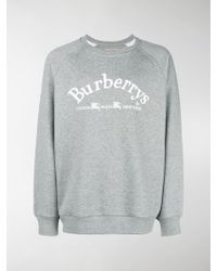 Burberry - Embroidered Archive Logo Jumper - Lyst