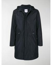 Aspesi - Hooded Carcoat - Lyst