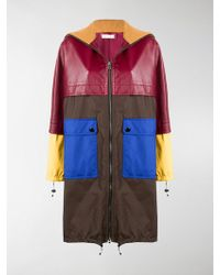 Marni - Colour-block Midi Coat - Lyst