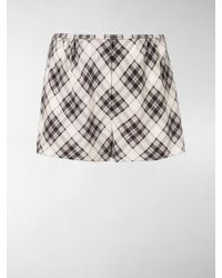Marc Jacobs - Printed Short Shorts - Lyst