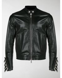 DSquared² - Jacket With Belted Cuffs - Lyst