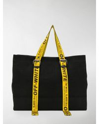 Off-White c/o Virgil Abloh - Canvas Tote Bag - Lyst