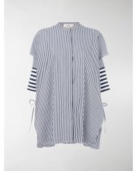 Ports 1961 - Oversized Striped Shirt - Lyst