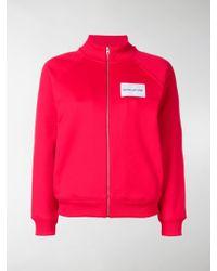 Calvin Klein - Logo Patch Track Jacket - Lyst