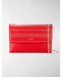 Lanvin | Studded Sugar Shoulder Bag | Lyst
