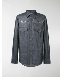 DSquared² - Studs Button Down Shirt - Lyst