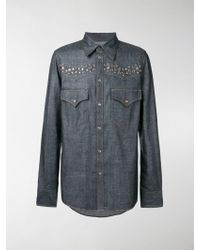 DSquared² - Camicia con borchie - Lyst
